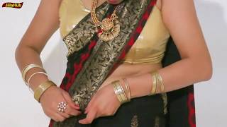 How To Wear Saree In Party | Drape Sari Super Quick and Perfect With Simple Tricks