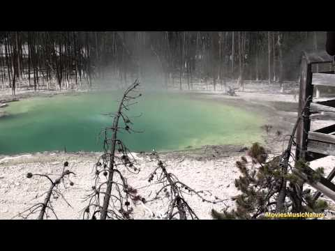 Geothermal Areas at Yellowstone National Park