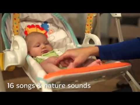 3 In 1 Infant Swing & Rocker (Musical Swing Rocker By Fisher Price) - ToySeek