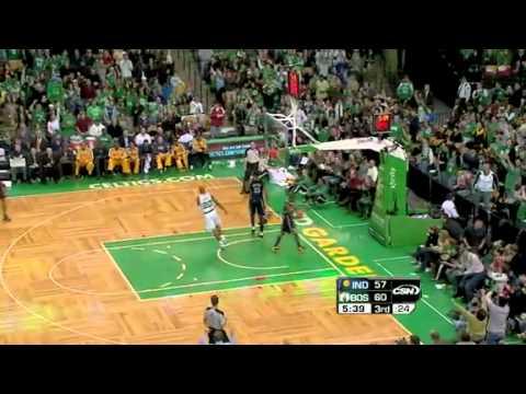 2010-11 Boston Celtics VS Indiana Pacers (Paul Pierce Triple Double!)