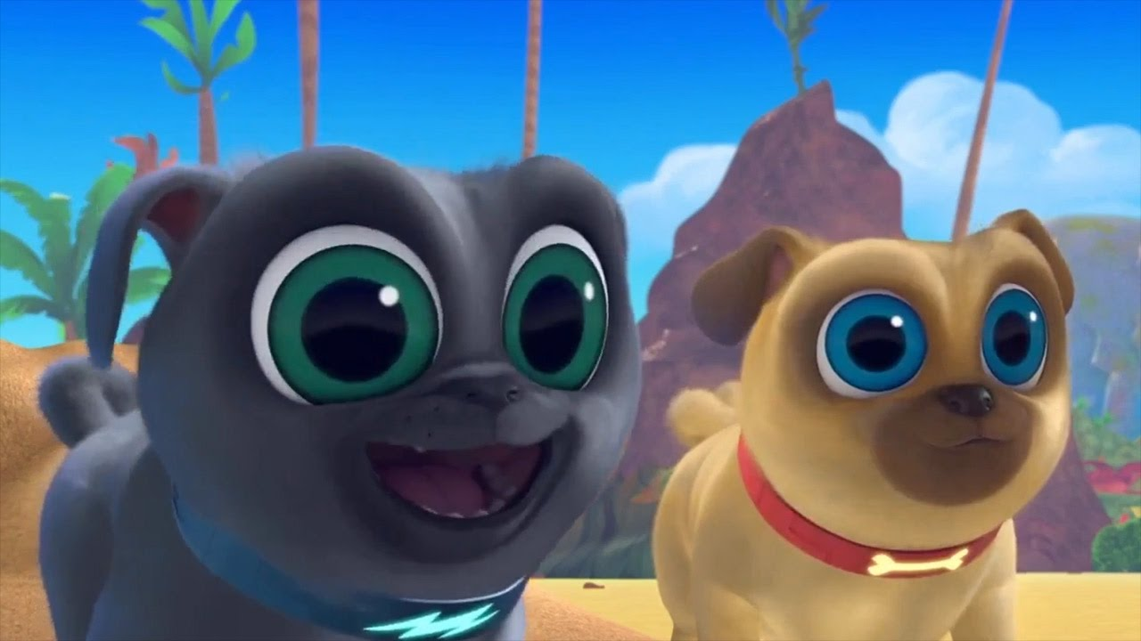 Bingo And Rolly Puppy Dog Pals Sand Creations Go To Hawaii To