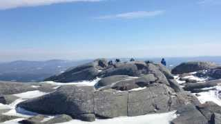 Mount Monadnock - At the Summit - Jaffrey, New Hampshire March 2014