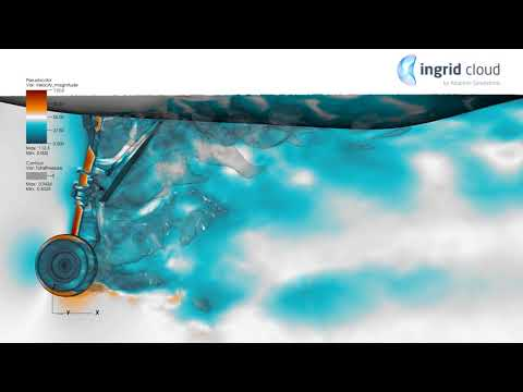 CFD Simulation | Landing Gear