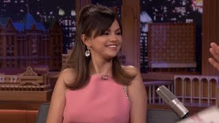 Selena gomez made some fun musical revelations while appearing on 'the tonight show.'