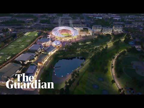 David Beckham's MLS team unveil plans for $966m stadium in Miami