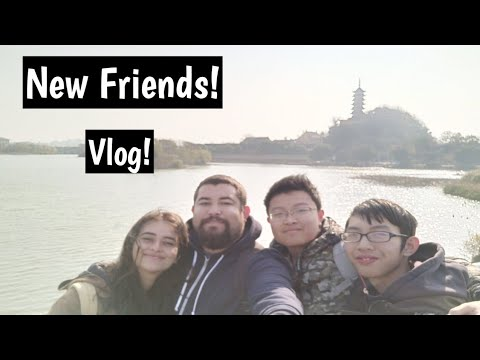 A Day in Zhenjiang with new friends!