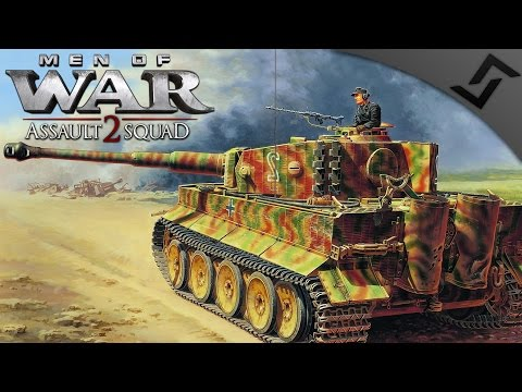 4v4 Tiger I Flank Saver - Men of War: Assault Squad 2 Robz Mod Multiplayer Gameplay
