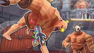 SPEAR FLINGING FUN! - GORN Gameplay - HTC Vive VR Gladiator Game
