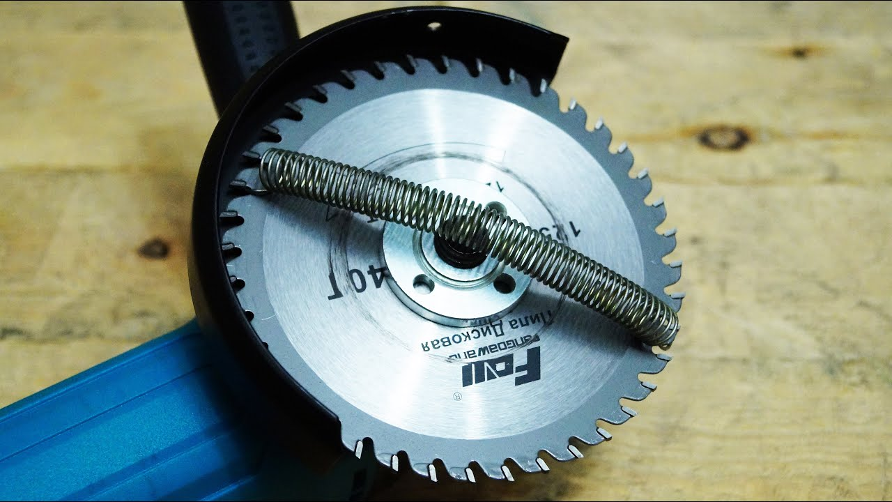 Wow!!! Awesome idea from a angle grinder! I wish I'd known about it before!