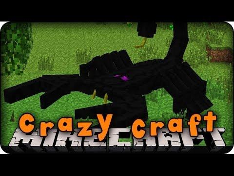 Minecraft Mods - CRAZY CRAFT - Ep # 6 'EMPEROR SCORPION AND THEATLANTICCRAFT' (Orespawn Mod)