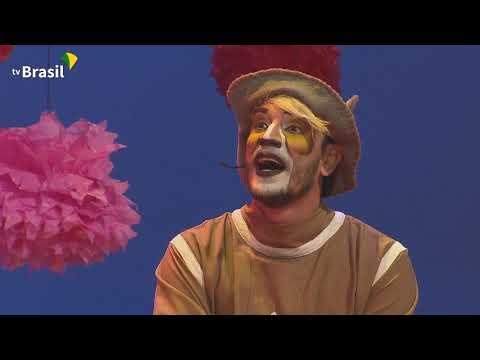 Os Saltimbancos invadem o Música Animada da TV Brasil  Espetáculo completo