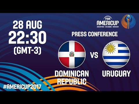Dominican Republic v Uruguay - Press Conference - FIBA AmeriCup 2017