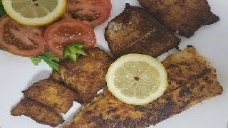 Pan and oil fry fish | Simple and delicious | fry fish recipe by easy cooking with Shazia
