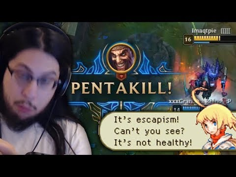 Imaqtpie - 40 YEAR OLD MAN DOMINATES LEAGUE OF LEGENDS WITH DRAVEN ON THE NEW PATCH thumbnail