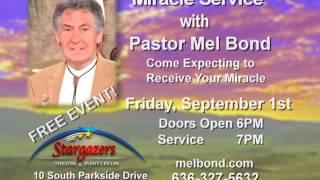 Mel Bond Colorado Springs Crusade - Friday, September 1, 2017