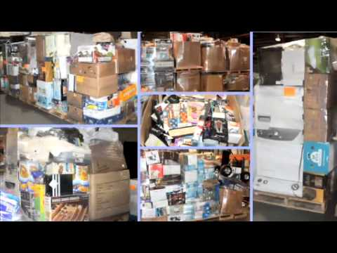 Via Trading Wholesale Los Angeles 300 Pallet Youtube