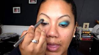 Avon Mark Pencil - Wild Blue Tutorial Thumbnail