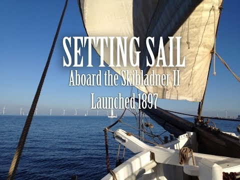 Sailing on a tall ship for the first time