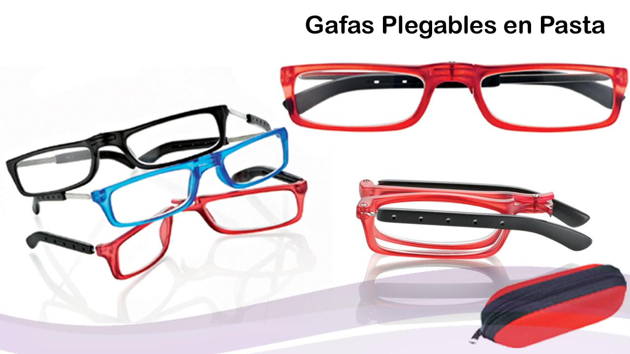 dbe6307d3c Video de gafas Plegables en Pasta CentroSyle - YouTube