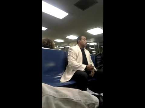 racist woman tells Veteran to shut the f**k up on Staten Island Ferry NY
