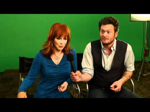 Academy of Country Music Awards - Blake Shelton & Reba McEntire