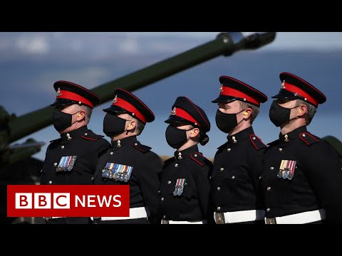 Gun salutes in tribute to Prince Philip in full- BBC News
