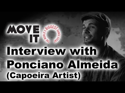 Interview with capoeira artist Ponciano Almeida