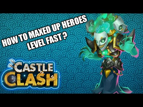 Castle Clash | Trik Buat Maxing Up Level Hero Dengan Cepat