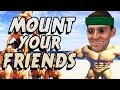 MOUNTIN' MEN - Mount Your Friends 3D Gameplay