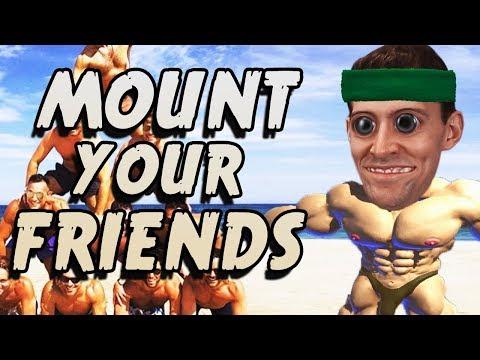 MOUNTIN' MEN - Mount Your Friends 3D Gameplay thumbnail