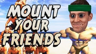 MOUNTIN\' MEN - Mount Your Friends 3D Gameplay