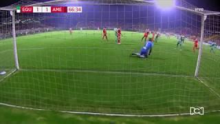 La Equidad 1-1 América -  Gol Luis Alberto Perea Fecha 19 Liga Águila 2018-II