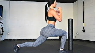 Girl's Abs, Butt, and Legs Home Workout | 8 Minutes Bodyweight only