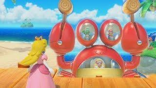 Super Mario Party - Smash and Crab & Other Minigames| Cartoons Mee