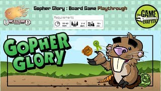 Gopher Glory - Board Game Playthrough