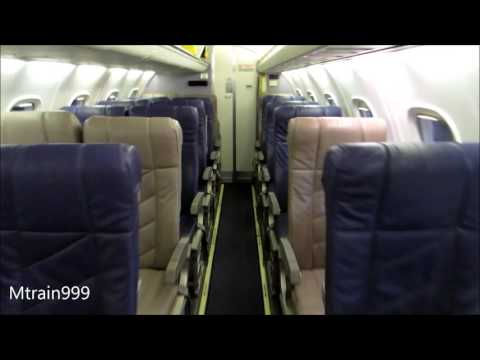 United Express Erj145 cabin tour