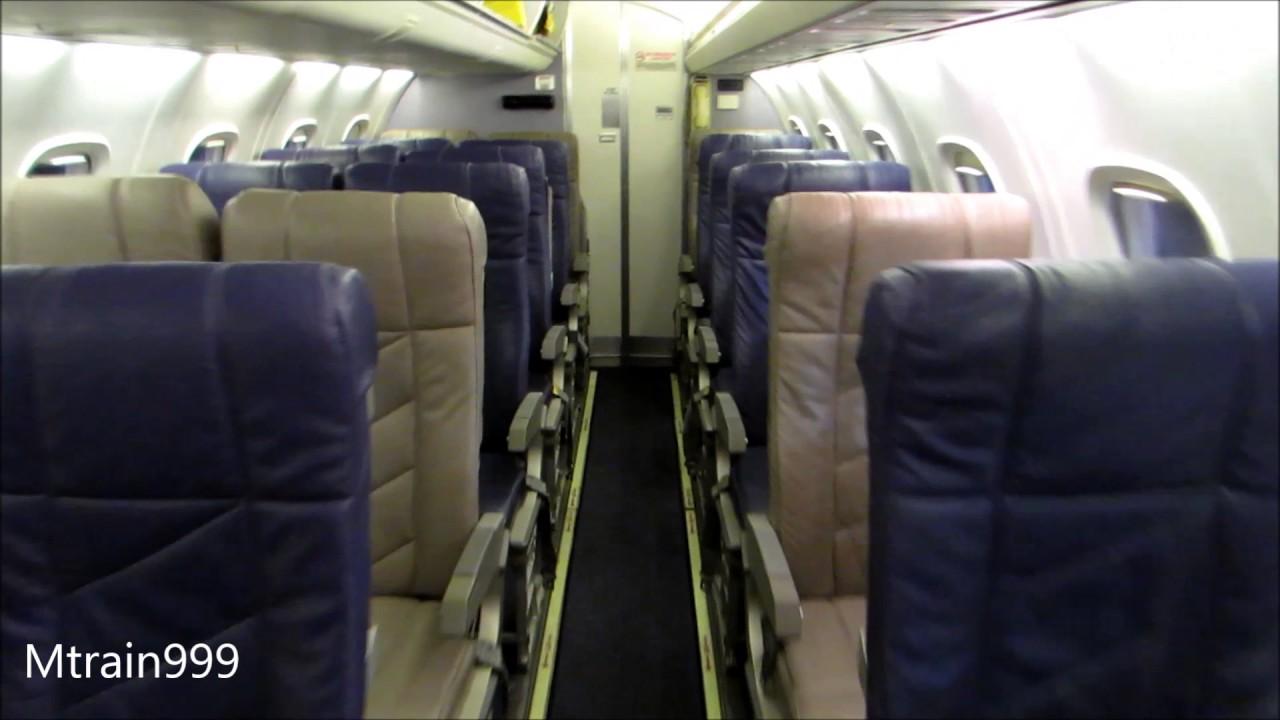 United Express Erj145 Cabin Tour Youtube