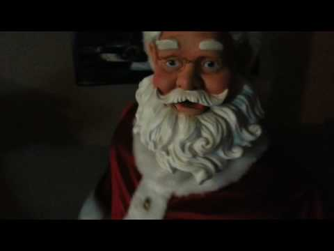Gemmy 5ft singing dancing santa