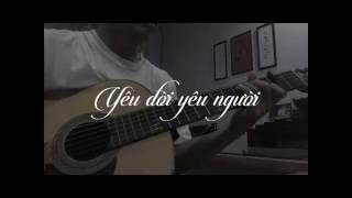 Guitar Solo - Yêu Người Yêu Đời -cover