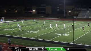 10-14-2020 Farmington Knights Men's Soccer vs. Perryville Pirates