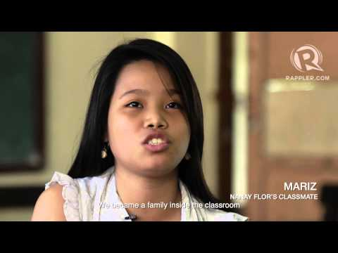 Nanay, classmate: The story of Flor Edroso