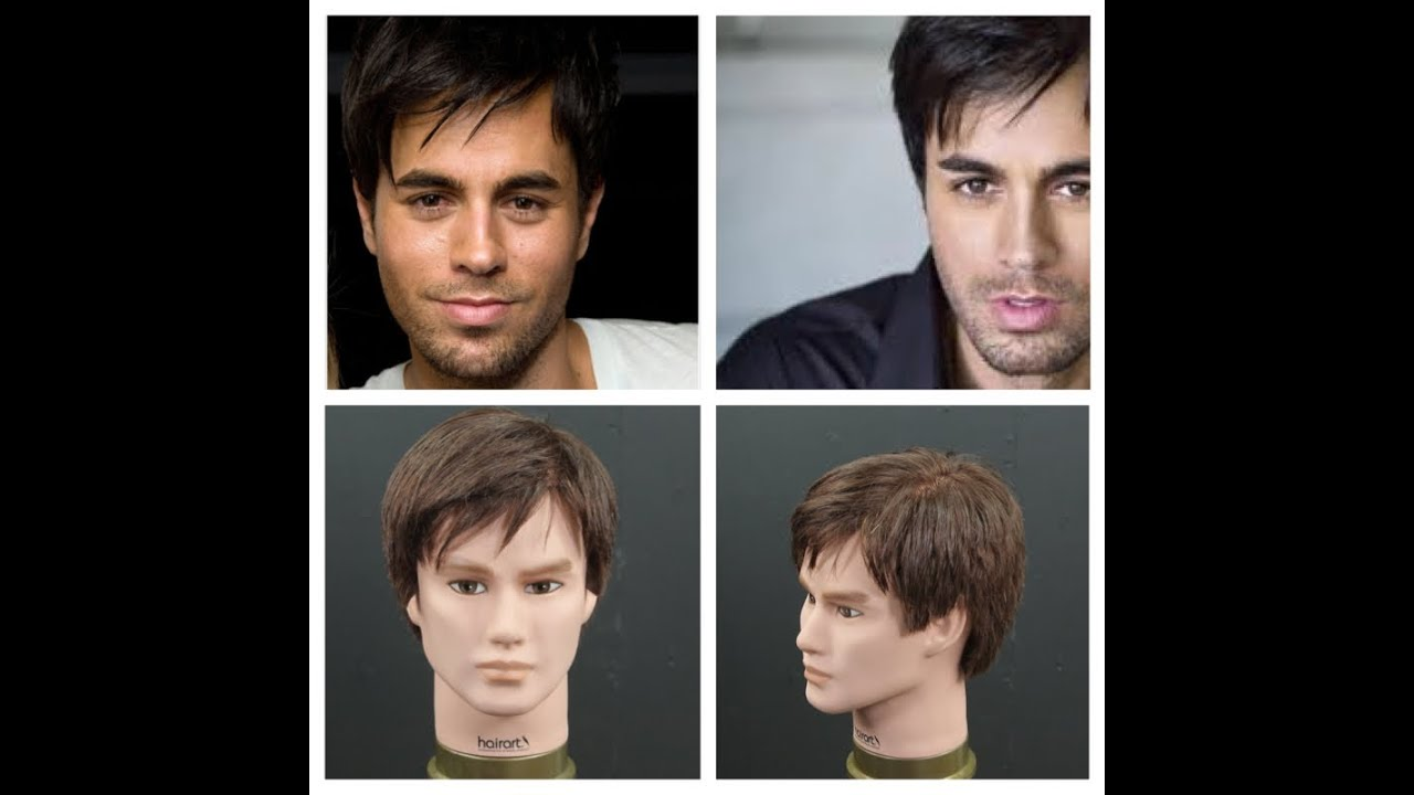 Enrique Iglesias Haircut Tutorial Thesalonguy Youtube