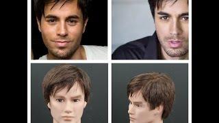 Enrique Iglesias Haircut Tutorial - TheSalonGuy