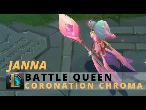 Battle Queen Janna Coronation Chroma - League Of Legends