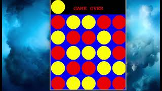 Easy Connect Four Game using Python 3 and Turtle