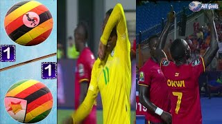 Uganda vs Zimbabwe 1-1 All Goals & Full Highlights CAN 2019