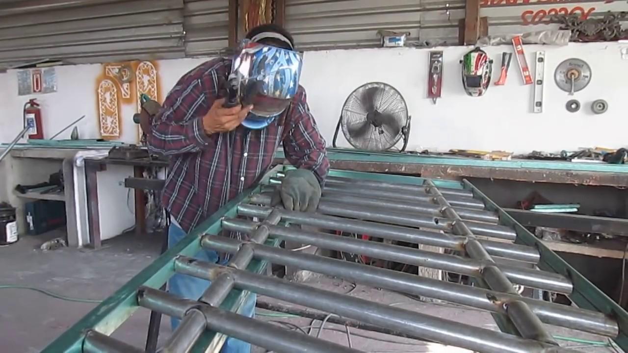 176 Como Crear Un Barandal Para Escalera Estilo Bambu