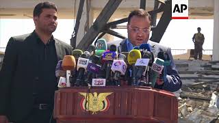"""Houthi leader accuses US of """"managing"""" conflict"""