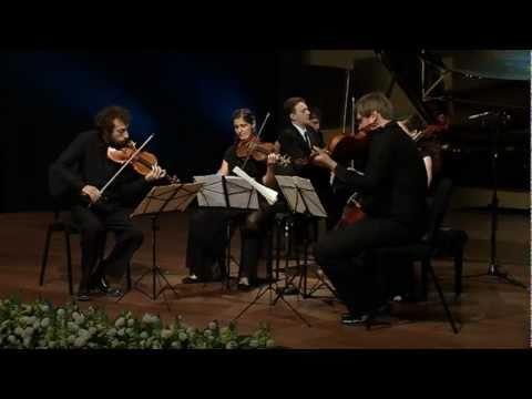 Brahms - Piano Quintet in F minor, op  34 - Eric Zuber with the Ariel String Quartet