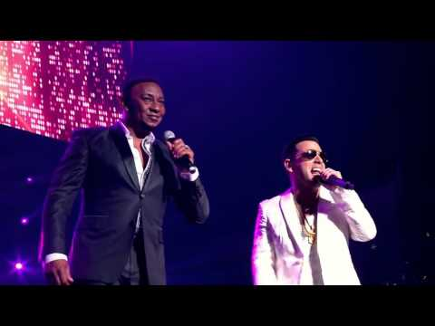 Tito 'El Bambino-Miénteme (Ft. Anthony Santos) Live Video In Puerto Rico